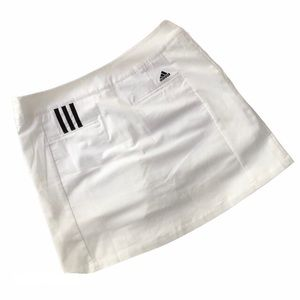 Adidas White Athletic Skort